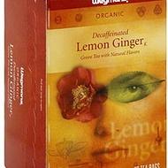 Organic Decaf Lemon Ginger from Wegmans