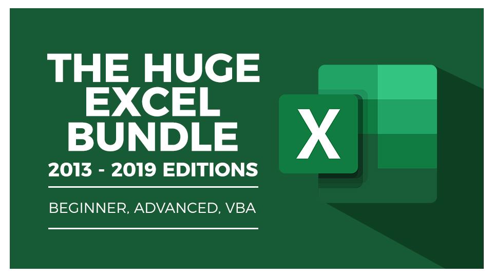 Huge Excel Bundle