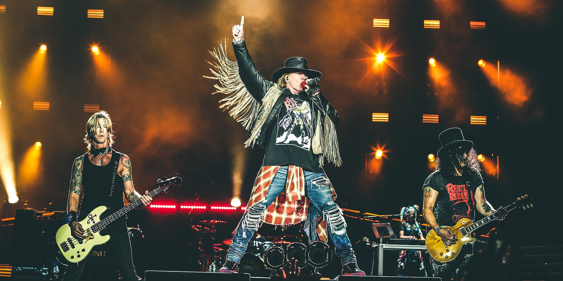 It's official: Guns N' Roses are coming to Singapore for their only Southeast Asian date