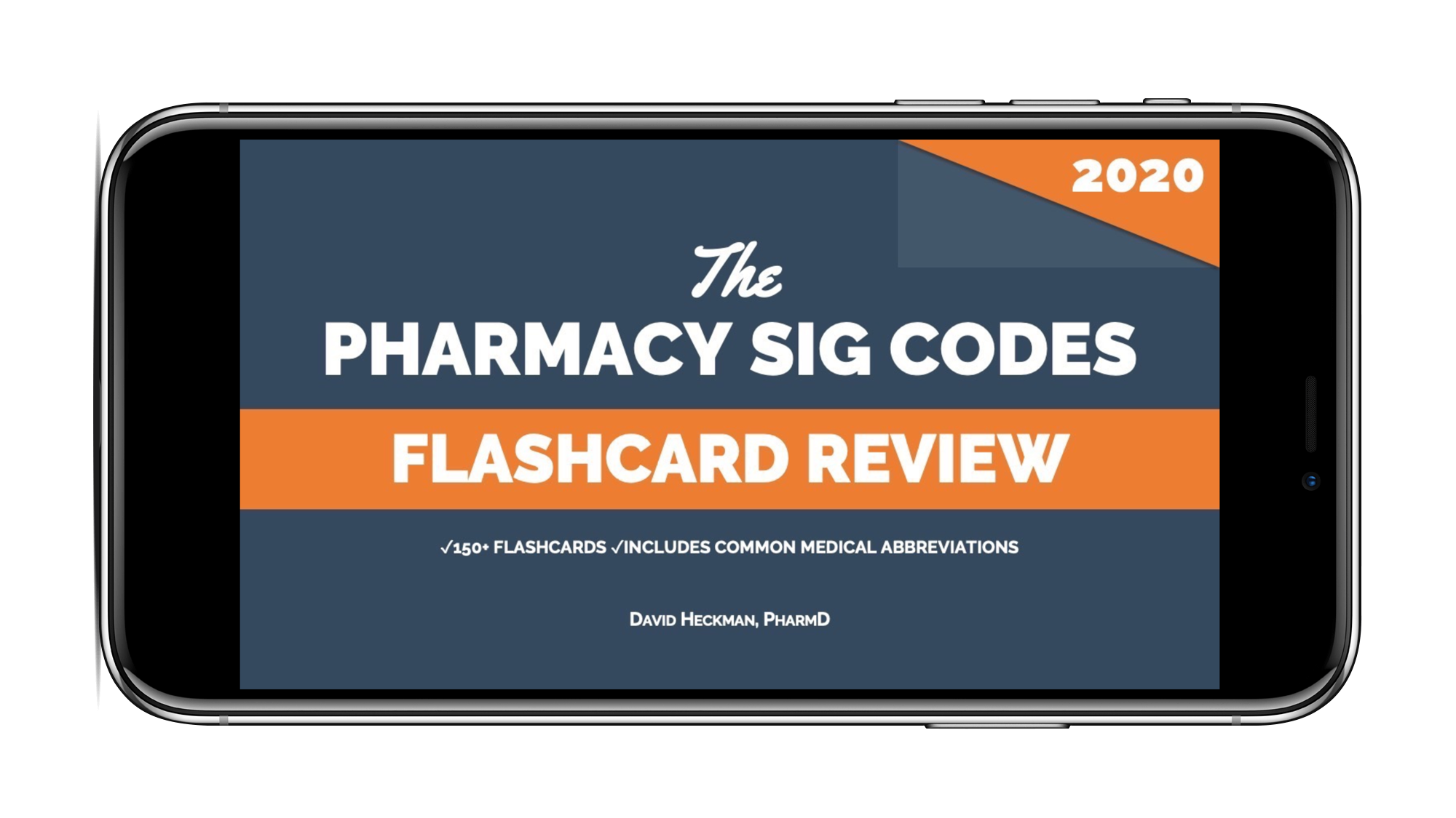 Pharmacy Sig Codes Flashcard Review for 2020