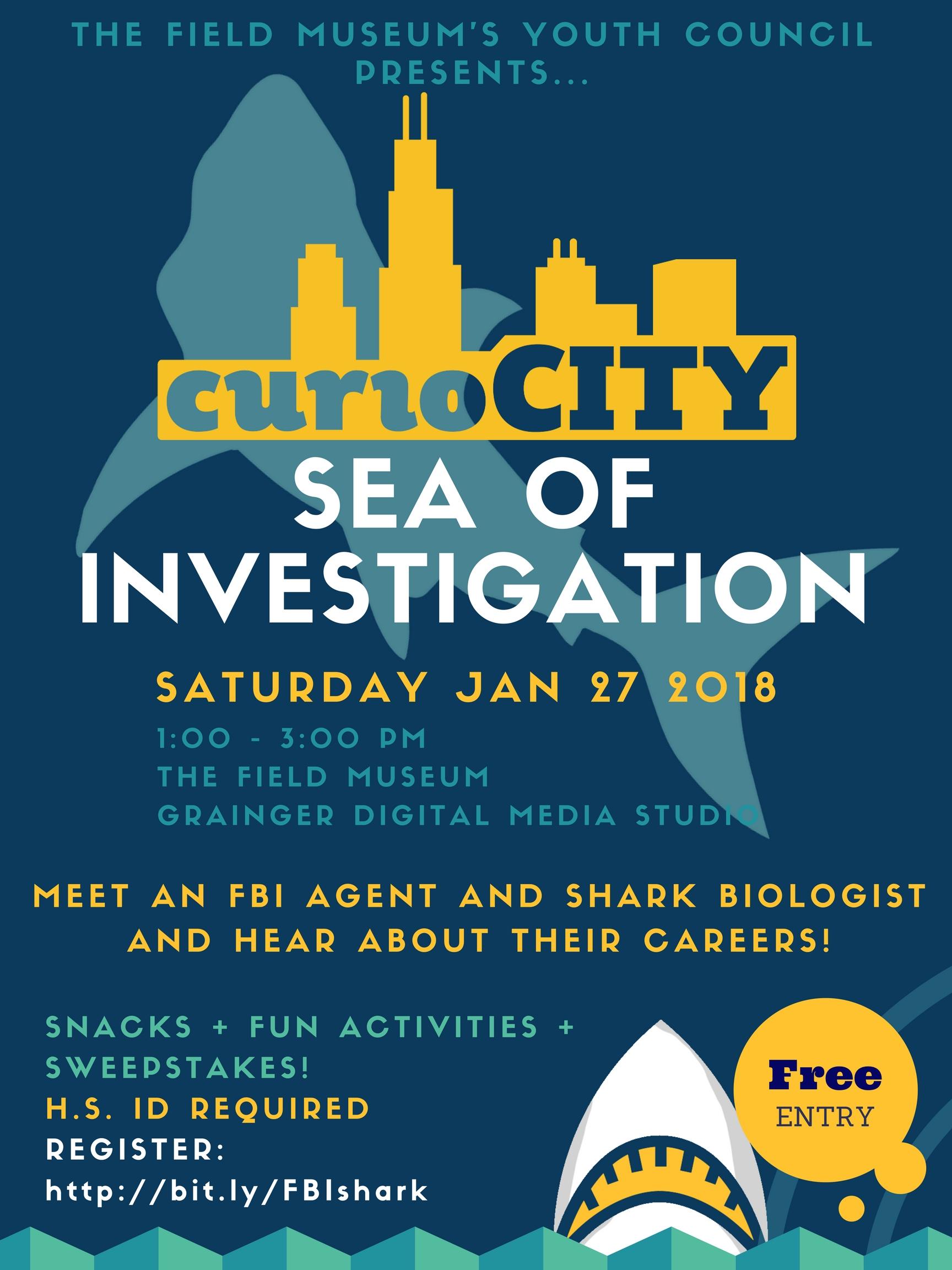 curioCITY: Sea of Investigation