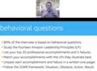 Prepare for Amazon's Behavioral Interview Questions