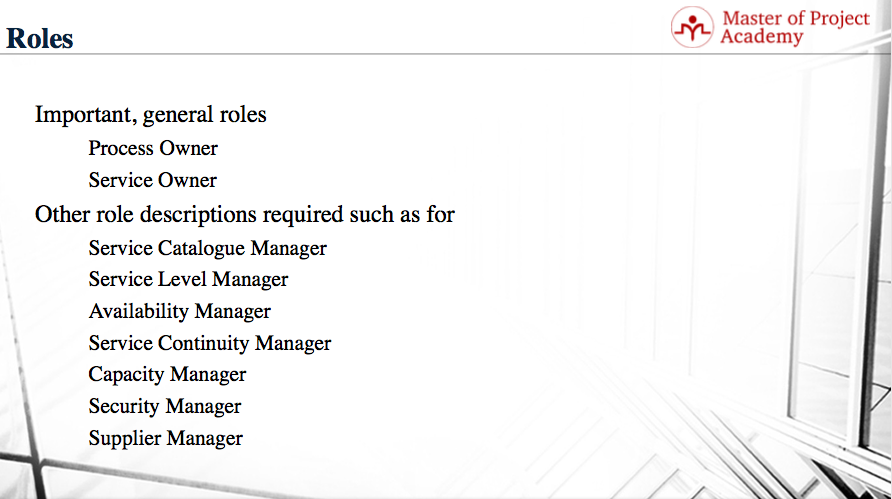roles and responsibilities it management
