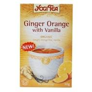 Ginger and Orange with Vanilla from Yogi Tea