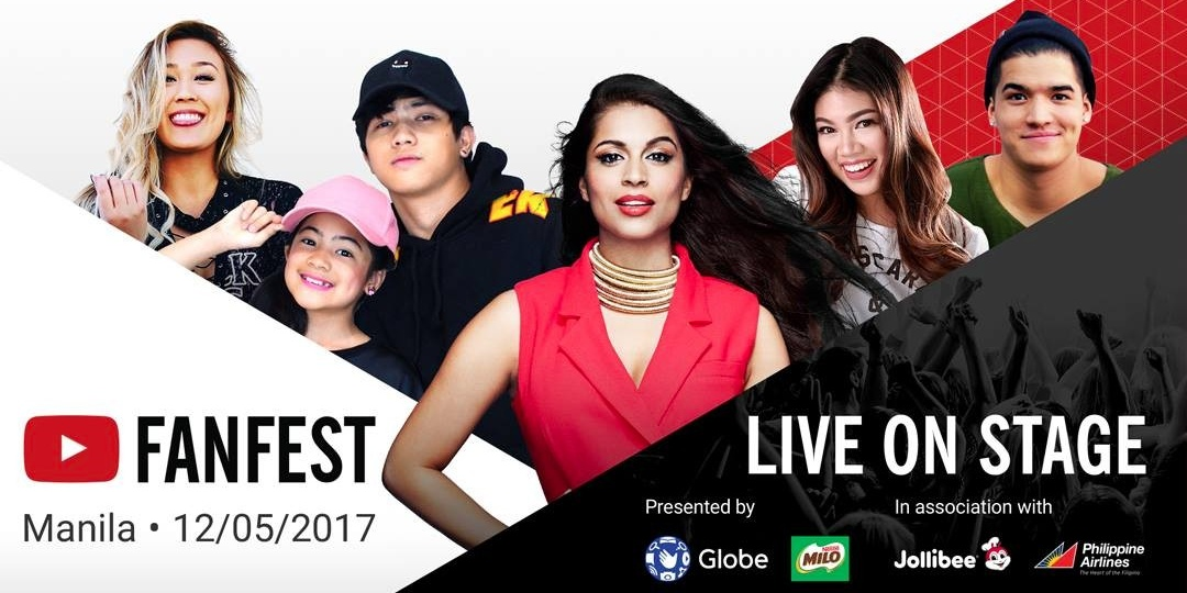 Watch the YouTube Fan Fest from your favorite Ayala Mall