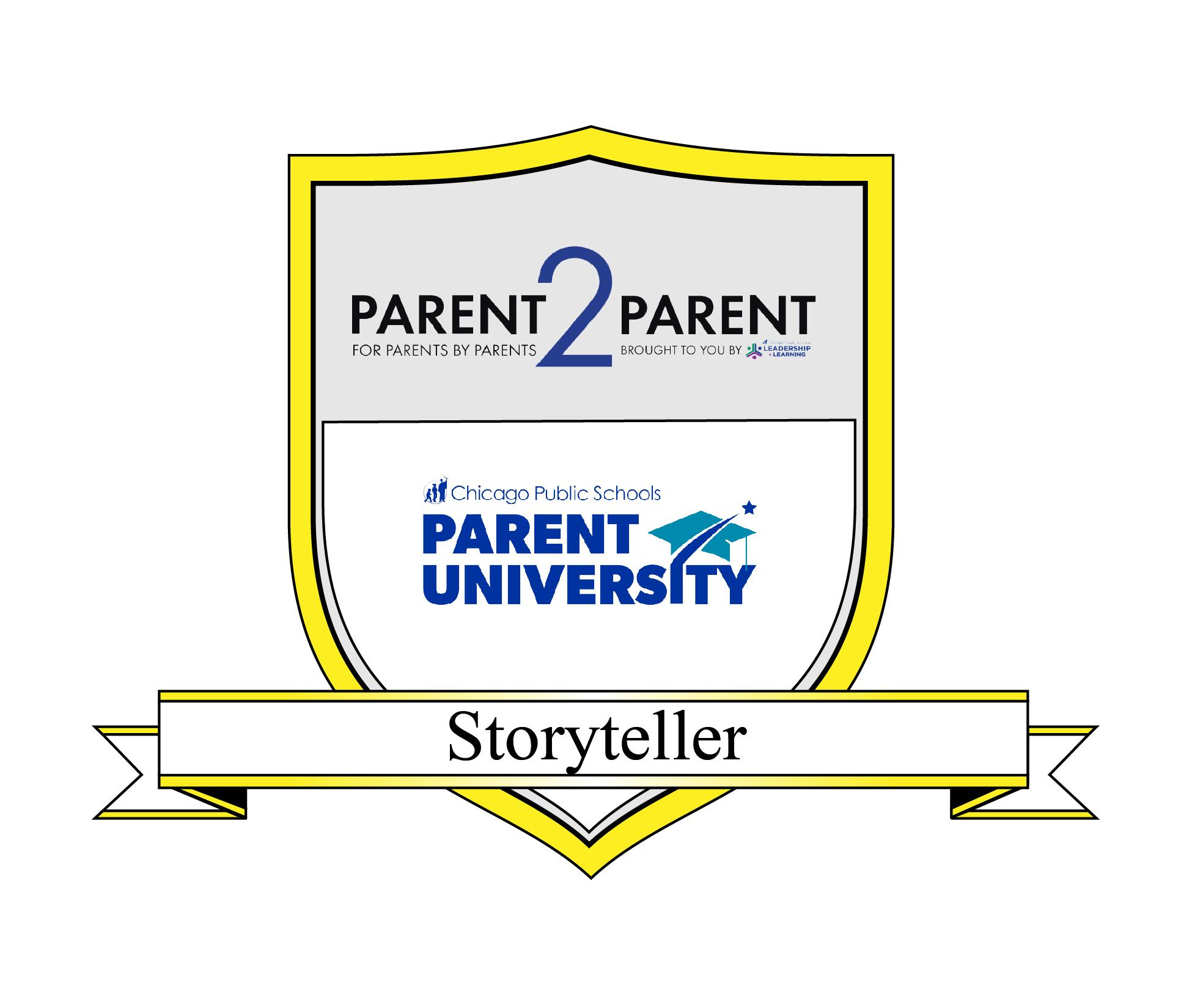 Parent 2 Parent Magazine Storyteller