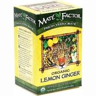 Organic Lemon Ginger Yerba Mate from Mate Factor