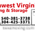 Southwest Virginia Moving and Storage | White Oak WV Movers