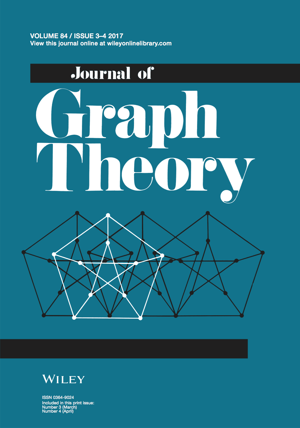 Template for submissions to journal of graph theory latex template template for submissions to journal of graph theory ccuart