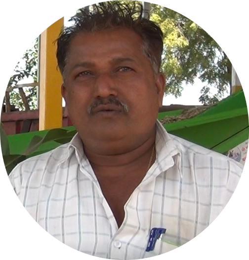 Meet a dairy farm specialist. Anil Kanawade is a dairy farmer and scientifically manages his dairy farm