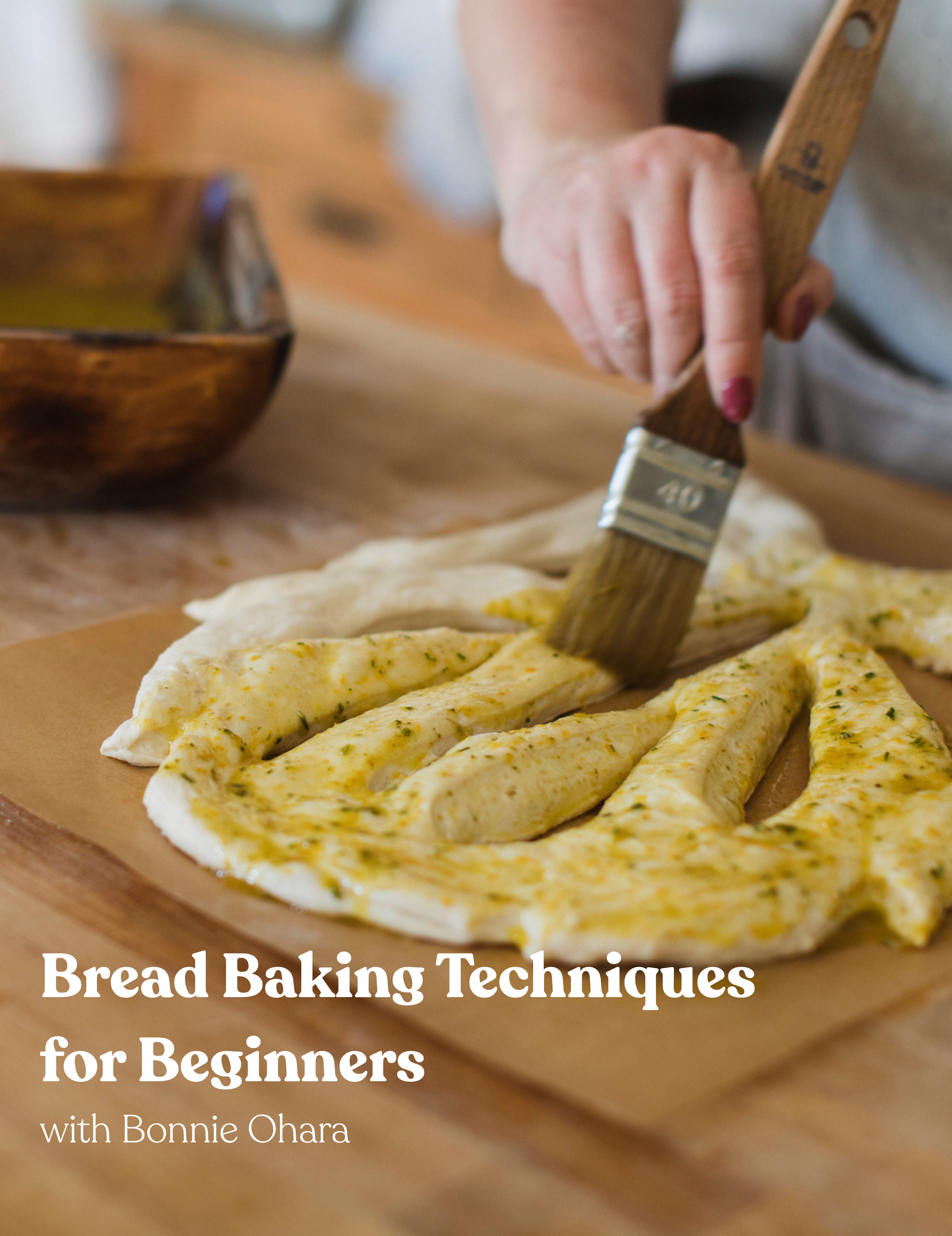 Bread Baking Techniques for Beginners cover photo