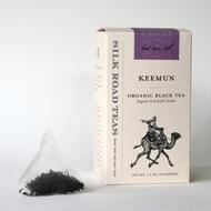 Keemun Organic Tea Sachets from Silk Road Teas