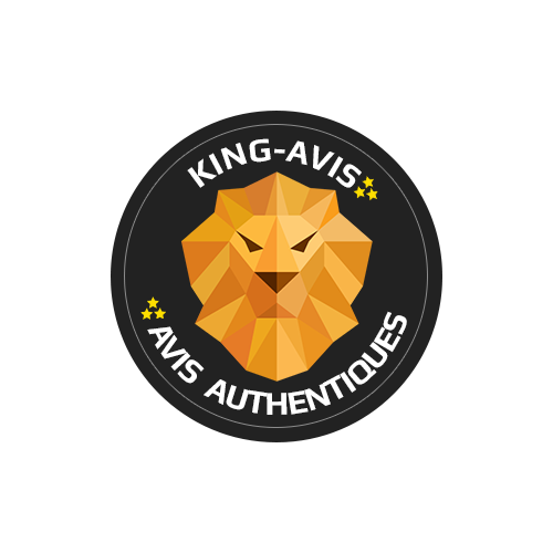 King Avis : Moyenne 5 / 5