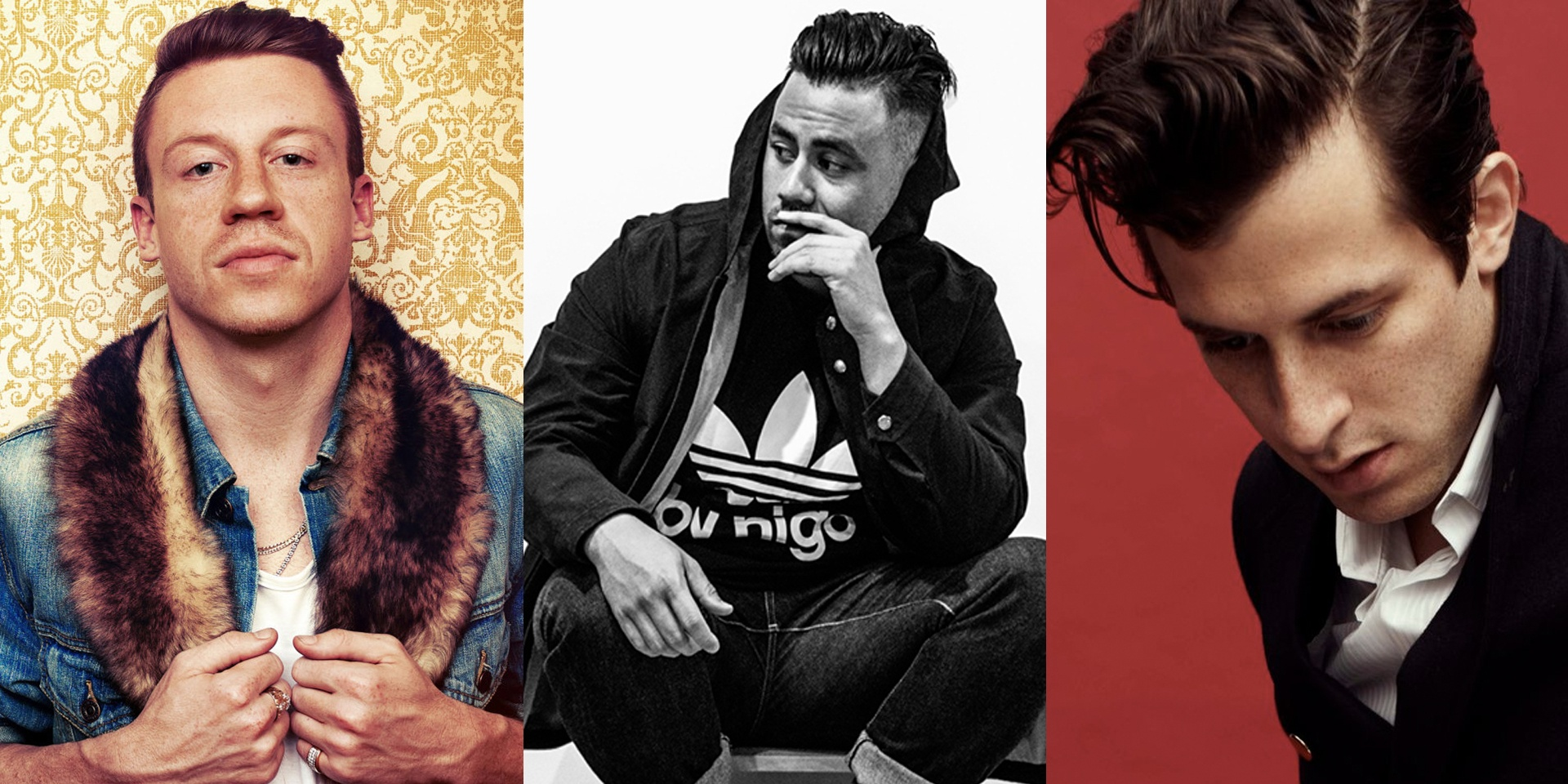 Macklemore & Ryan Lewis, Ta-Ku, Mark Ronson are all coming to Asia