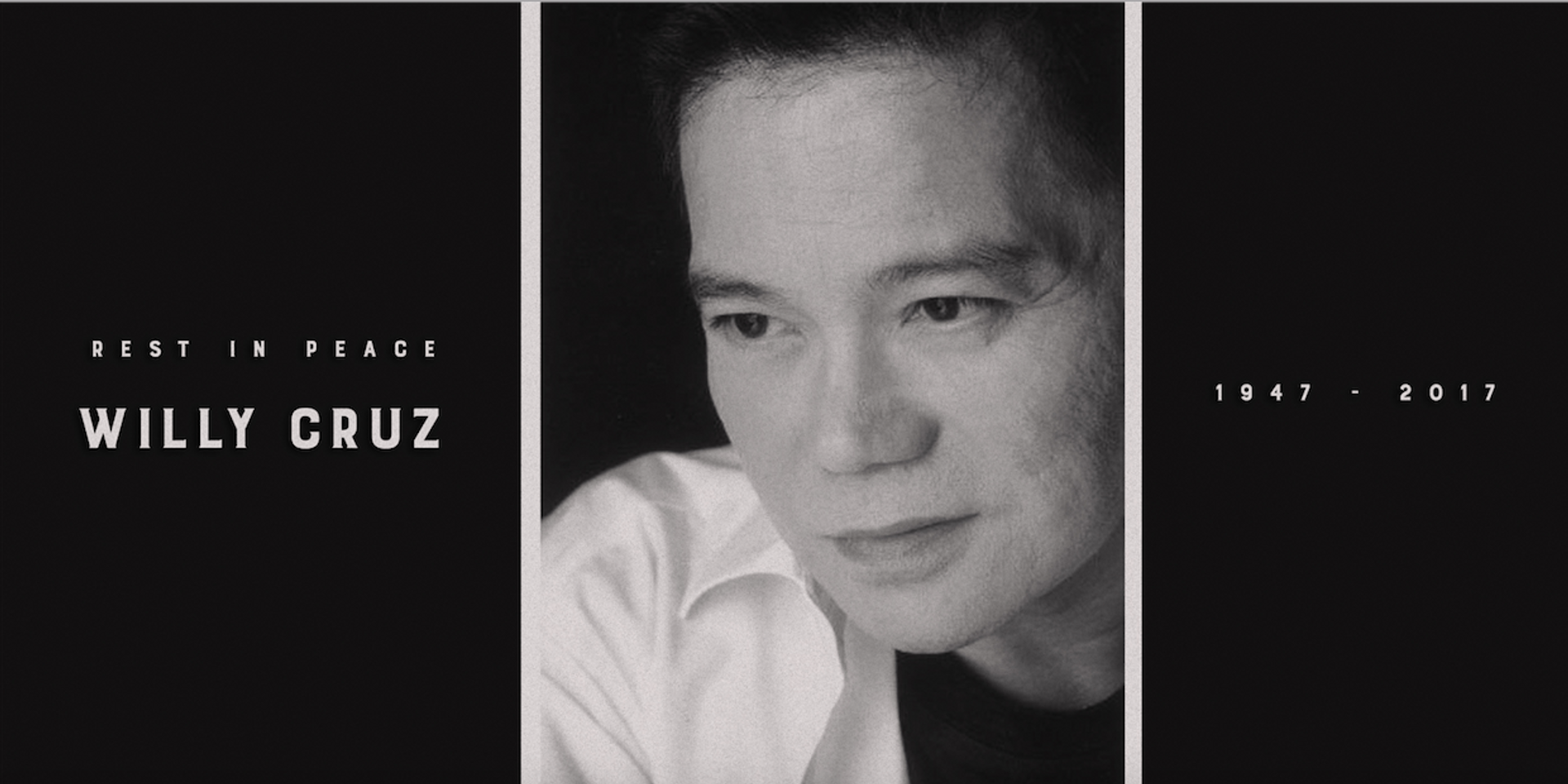 Renowned Filipino songwriter and film score composer Willy Cruz passes away at 70