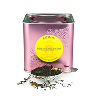 Black tea with lemon from Fortnum & Mason