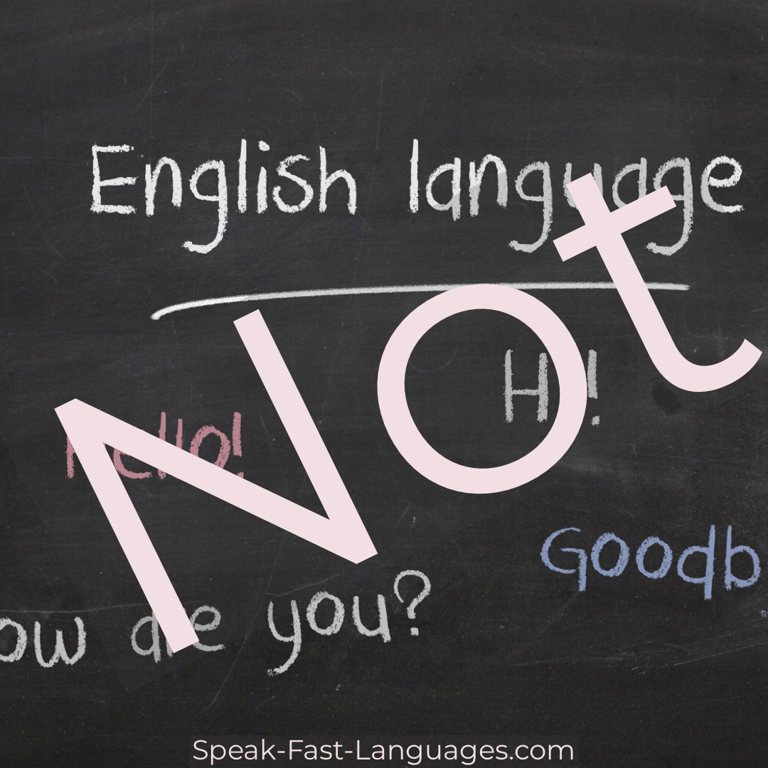 English as second language-language learning