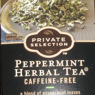 Peppermint Herbal Tea from Kroger Private Selection