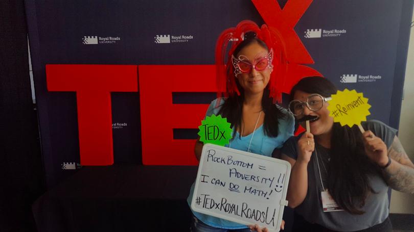 Sheena at TEDx