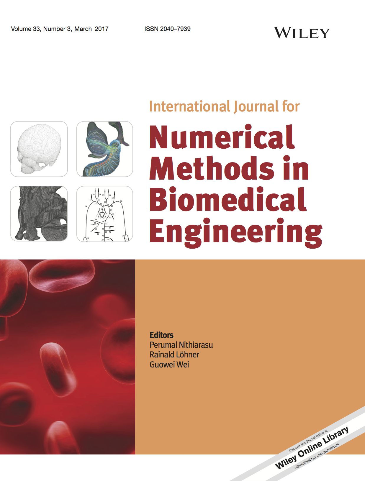 Template for submissions to International Journal for Numerical Methods in Biomedical Engineering