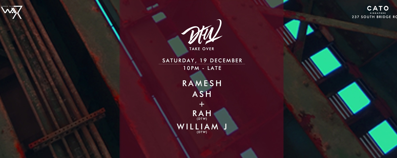 Darker Than Wax Take Over ft. Ramesh & Ash