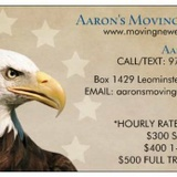 Aaron's Moving Service image