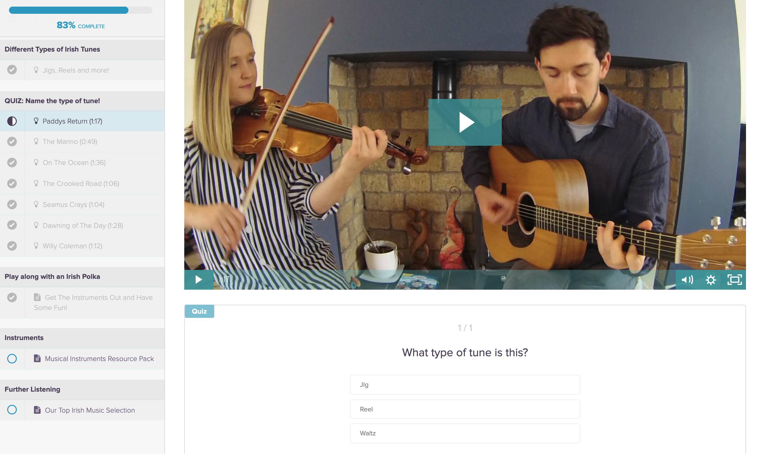 Irish Music lesson for Kids | DabbledooMusic