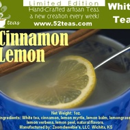 Cinnamon Lemon Bai Mu Dan from 52teas