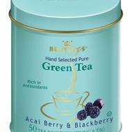 ACAI BERRY & BLACKBERRY GREEN TEA (50-CT TIN) from Bentley's
