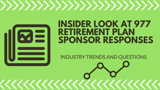 Insider Look at 977 Retirement Plan Sponsors
