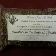 Peaceful Mind from Camellia's Sin Tea Parlor