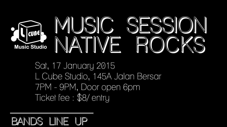 Lcube Music Session #2 Alter Native Rock!