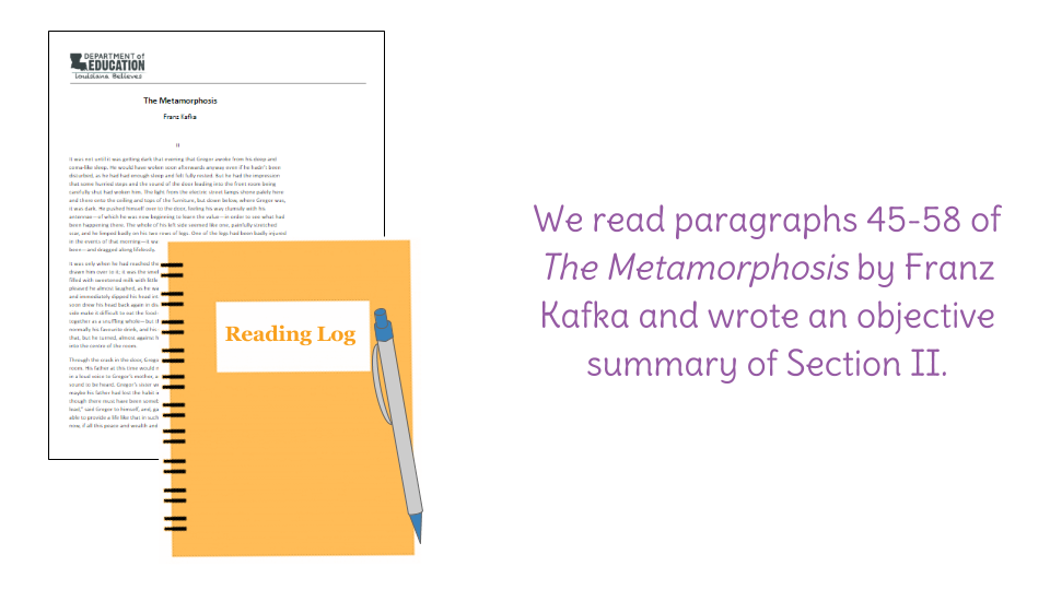 the metamorphosis existence essay The metamorphosis essay the metamorphosis shockingly and unrealistically begins with gregor samsa's waking up and discovering his existence can be.