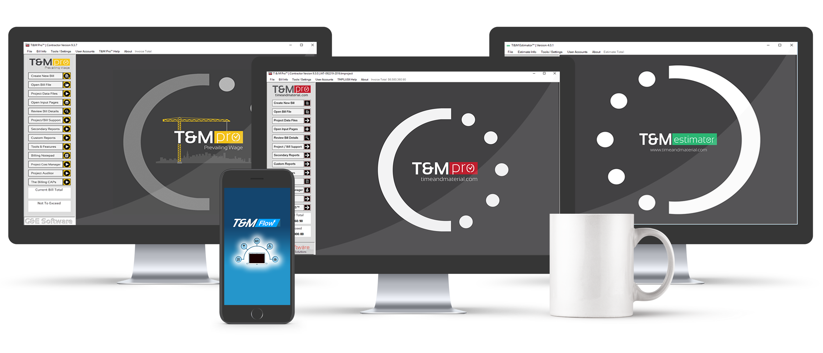T&M Pro-Suite | Time and Material Billing Software Suite