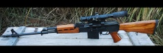 Custom build by supplier YUGO M76 8MM SNIPER RIFLE