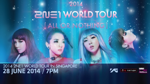 2014 2NE1 WORLD TOUR [ALL OR NOTHING]