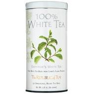 100% White Tea/Emperor's White Tea from The Republic of Tea
