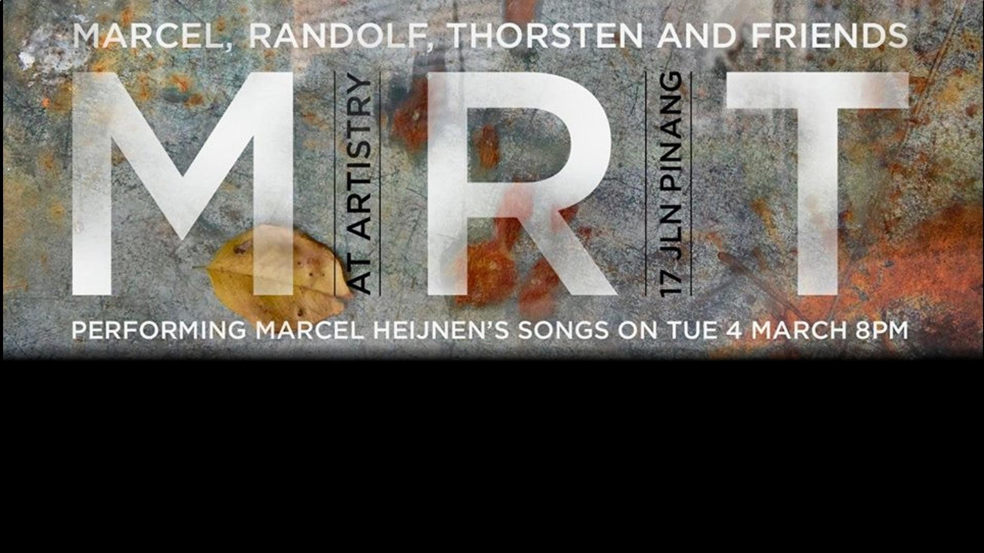 Marcel, Randolf, Thorsten & Friends