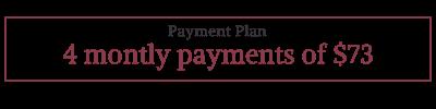 Natalie Rousseau 13 Moons Payment Plan