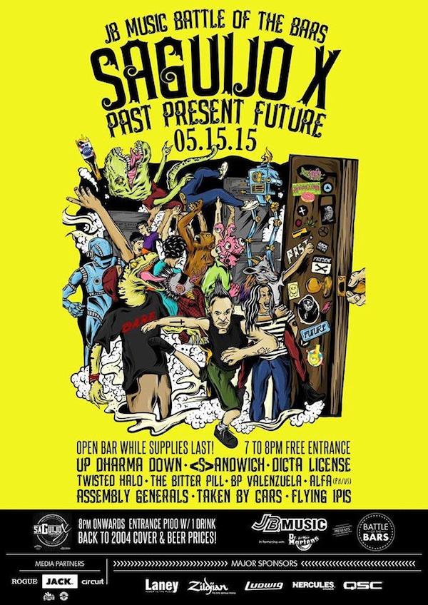 Saguijo X: Past Present Future