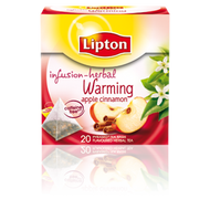 Infusion-Herbal Warming Apple Cinnamon from Lipton