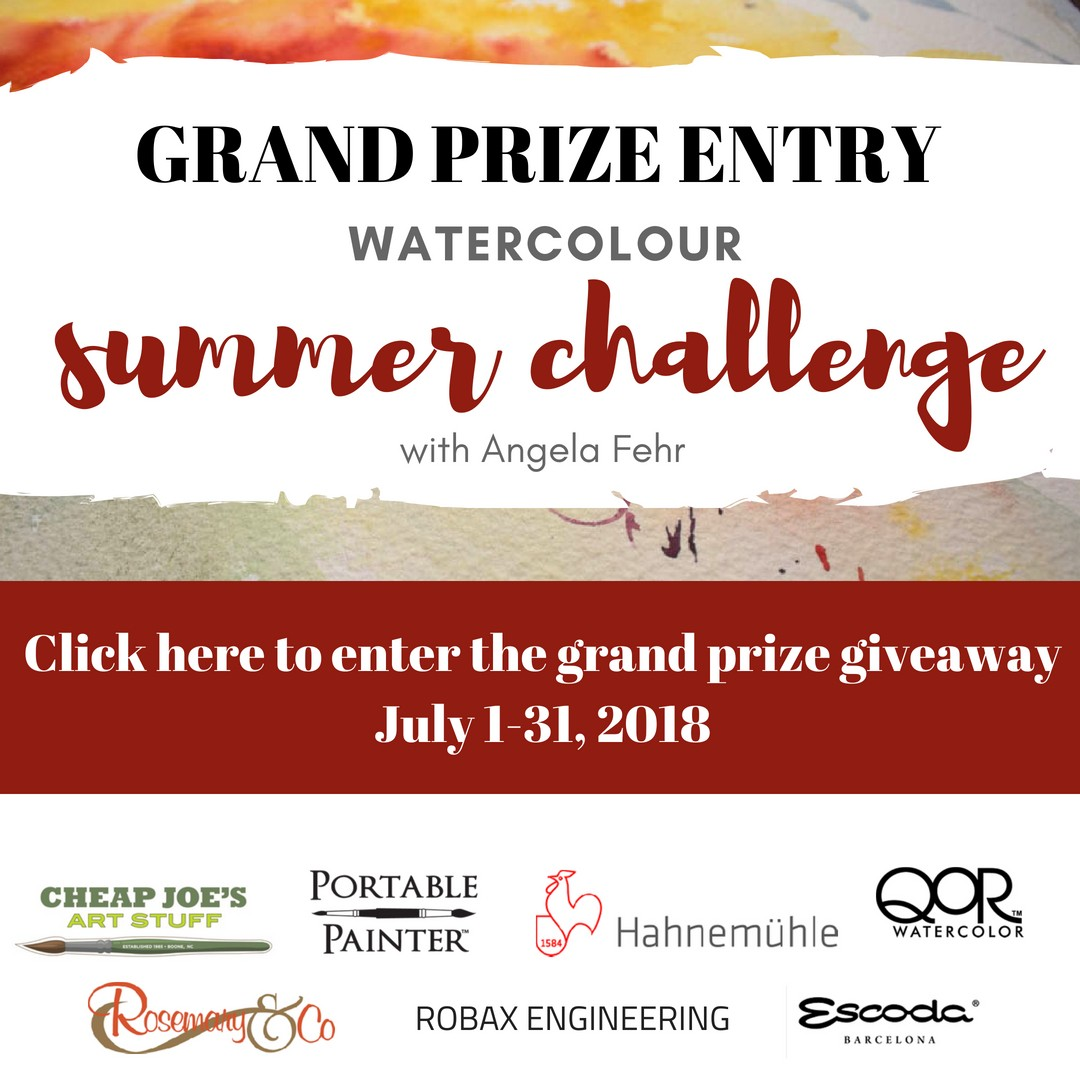 Watercolor Summer Challenge Grand Prize Enter Here