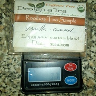 Rooibos Vanilla Caramel from Design a Tea