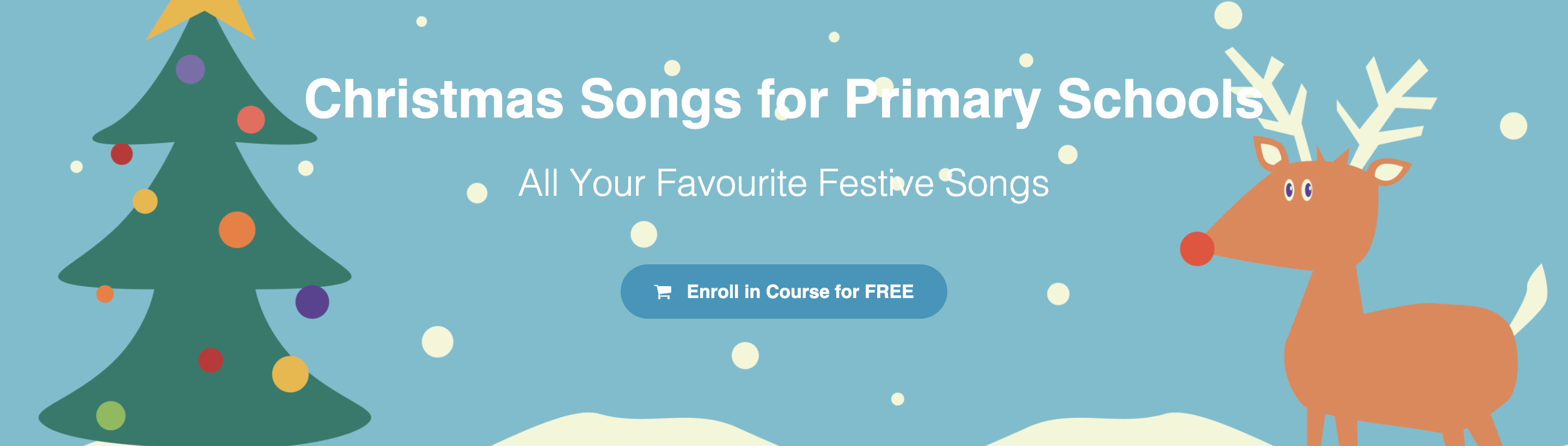 DabbledooMusic Christmas Songs for Primary Schools