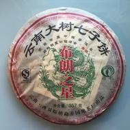 """2007 Guoyan """"Star of Bu Lang"""" Raw Pu-erh from Yunnan Sourcing"""