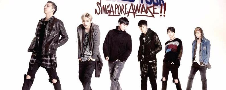 B.A.P LIVE ON EARTH 2016 WORLD TOUR SINGAPORE AWAKE!!