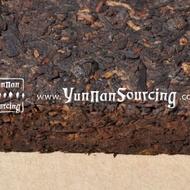 2003 Menghai Ripe Pu-erh Tea Brick from Yunnan Sourcing