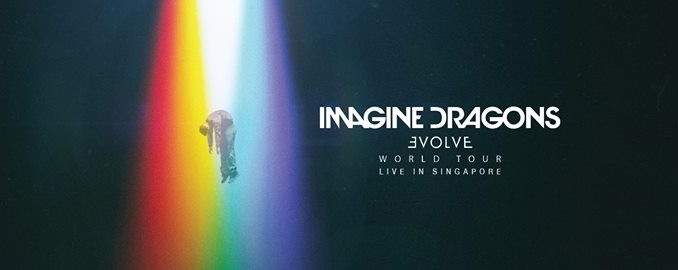 Imagine Dragons Evolve World Tour Live in Singapore