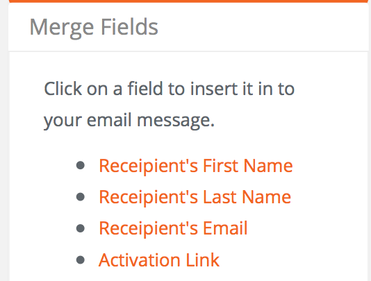 how to add people to send email to on daymap