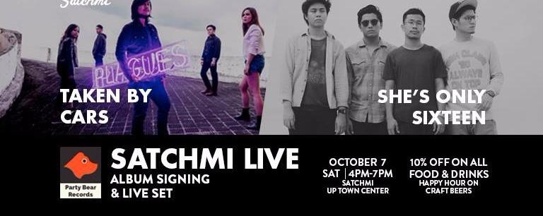 Satchmi Live: Party Bear Records Album Signing + Live Set